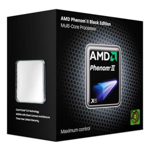 AMD Sockel AM3 Phenom II X6 1090T Box Prozessor (3200MHz, L2/L3-Cache) (Phenom 2 X6)
