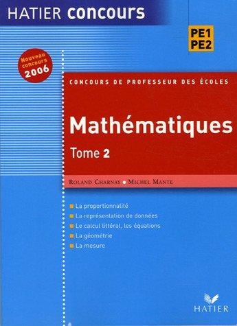 Mathématiques : Tome 2