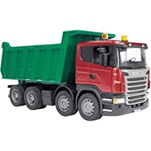 Bruder 3550 Scania - Camión con volquete