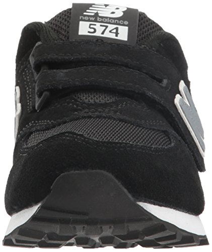 New Balance Kv574cuy M Hook and Loop, Scarpe da Ginnastica Basse Unisex – Bambini Nero (Black)