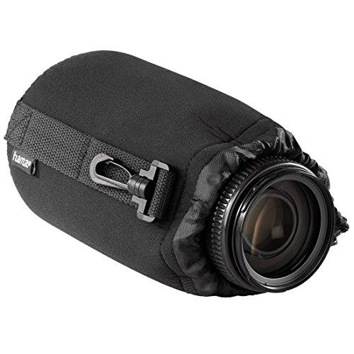 Hama Objektivbeutel, Neopren (Größe L, u.a. passend für Objektive von Herstellern wie Nikon, Canon, Olympus, Panasonic, Sony, Sigma, Tamron, Leica etc.)