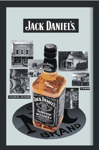 Jack Daniel's Spiegel Bottle & Destillery - Bedruckter Spiegel