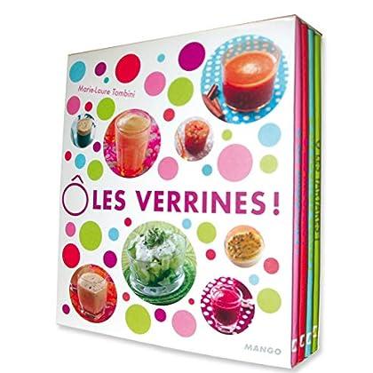 Ô les verrines ! : 60 recettes fraîcheur, Coffret en 4 volumes