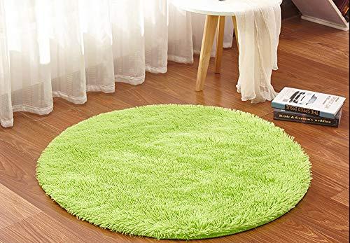 Tappeto Morbido Per Bambini : Ouken tappeto rotondo tappeto morbido per soggiorno camera da