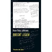 Brecht lesen (Recherchen 123)
