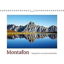 Montafon (Wandkalender 2018 DIN A4 quer): Der Fotokalender zeigt die Region Montafon in Vorarlberg. (Monatskalender, 14 Seiten) (CALVENDO Orte) [Kalender] [Apr 01, 2017] Riedmiller, Andreas