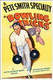 Posterlounge Leinwandbild 80 x 120 cm: Bowling Tricks von Everett Collection - fertiges Wandbild, Bild auf Keilrahmen, Fertigbild auf Echter Leinwand, Leinwanddruck