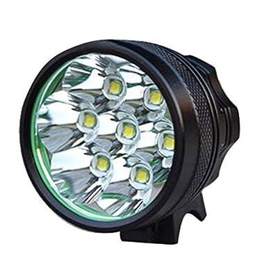 BESTGO® B70 7 LED Wasserdicht Stirnleuchte CREE XM-L T6 Stirnlampe Fahrradlicht Hedalight Fahrradlampe Headlamp Kopflampe - 8400Lm, EU Stecker, 18650 Akku von BESTGO bei Outdoor Shop