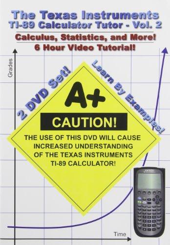 Texas Instruments Ti-89 Calculator Tutor 2 [DVD] [Import]