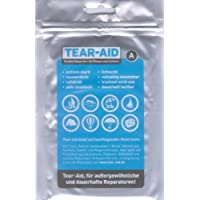 Amesbichler Repair Kit Tear Aid (A) x Plastic Seats, in the Mountains, Camping and Outdoor Activities, Water Sports, Tent - Tears And Holes