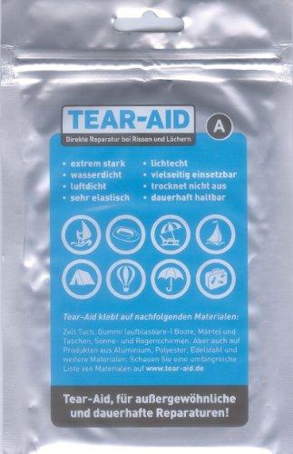 Amesbichler Waldhausen Reparaturset Tear AID (A) für Pferdedecken, Kunststoff Sättel, Bergsport, Camping und Outdoor, Wassersport, Zelte -bei Rissen und Löchern