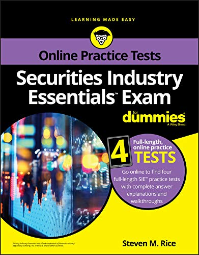 Securities Industry Essentials Exam For Dummies with Online Practice (For Dummies (Career/Education)) (English Edition)