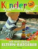 Kinder spielerisch fördern: Der neue große Elternratgeber. 0-3 Jahre