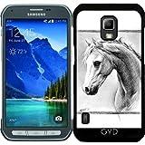 DesignedByIndependentArtists Hülle für Samsung Galaxy S5 Active - Pferd I by eDrawings38