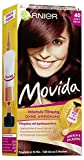 Garnier Tönung Movida Pflege-Creme, Intensiv-Tönung Haarfarbe 40 Dunkle Kirsche, 3er Pack