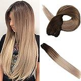 Best Hair Weave Blonde 3 Bundles - Easyouth Ombre Sew In Black Hair Extensions Bundles Review