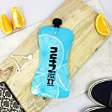 Nutri Fill-It Re-Usable Smoothie Pouches (pack of 2 Blue pouches) - Large Reusable Pouches for Adults and Children