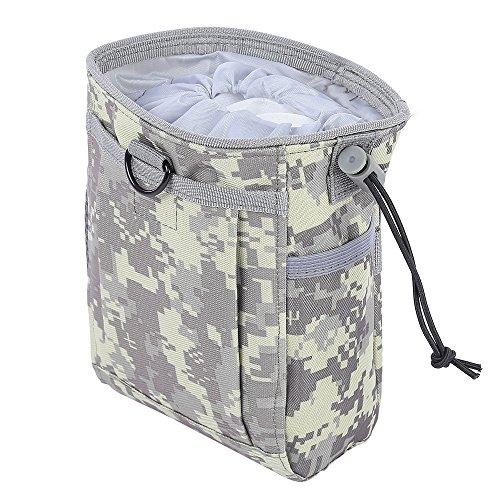 Zhuhaimei,Airsoft Dienstprogramm Recyceln Bag Outdoor Tool wasserdicht Paket(Color:ACU Camouflage)