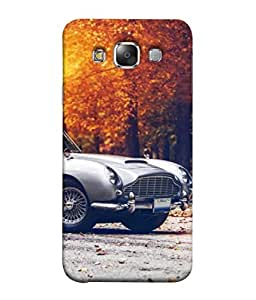 PrintVisa Designer Back Case Cover for Samsung Galaxy E7 (2015) :: Samsung Galaxy E7 Duos :: Samsung Galaxy E7 E7000 E7009 E700F E700F/Ds E700H E700H/Dd E700H/Ds E700M E700M/Ds (Metallic Travel Classic Shiny Chrome Antique Metallic)