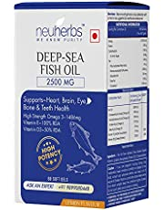 Neuherbs Deep Sea Fish Oil 2500 mg