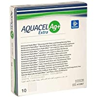 AQUACEL Ag+ Extra 5x5 cm Kompressen 10 St preisvergleich bei billige-tabletten.eu