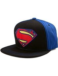DC Comics Superman Neon Logo Snapback Casquette De Baseball