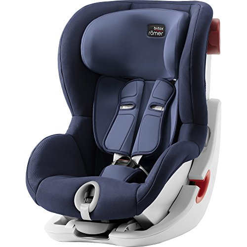 Britax Römer Kindersitz Gruppe 1, KING II Autositz 9-18 kg, moonlight blue