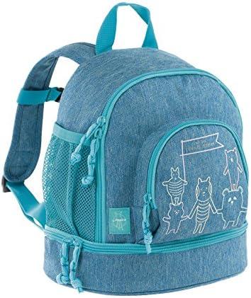 Lässig Mini Backpack About Friends mélange Blue Sac à Dos Dos Dos  s, 27 cm, Bleu (Blue) | Larges Variétés  dabcb9
