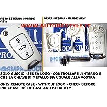 G. M.-Production Kia F11-Carcasa blanca Llave cáscara Carcasa para mando a distancia 3 Rio Soul se Kia Sportage Ceed [las fotografías y controlar los detalles]
