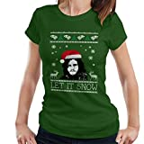 Let It Snow Jon Snow Christmas Game Of Thrones Women's T-Shirt