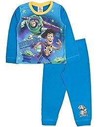 Disney Kids Boys Official Toy Story Buzz Lightyear Sheriff Woody Rex Bullseye Pyjamas PJ's Set Nightwear Childrens Size 1-8 Years