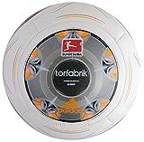 adidas Fußball Torfabrik 2013 DFL 13 Glider, Wht/Silver/Zest/Mtsil, 4, G73545
