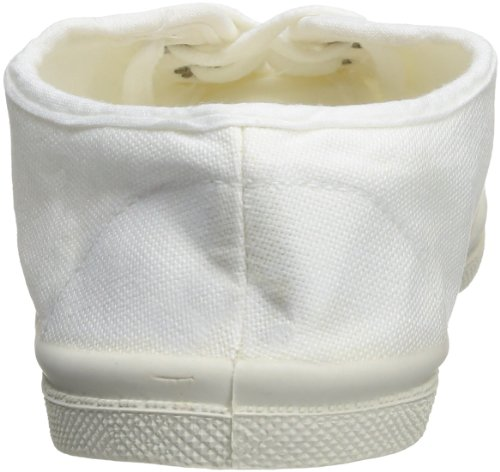 Bensimon Tennis Lacet, Unisex-Kinder Hohe Sneakers Weiß (Blanc (Blanc 101))