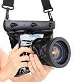 #8: Tteoobl GQ-518L Underwater 20M Waterproof Camera Bag High Quality Dry Housing Case for Nikon Canon Sony Diving Pouch SLR DSLR Camera Case