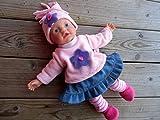 Puppenkleidung handmade Gr. 32 cm für z.B. my little Baby Born Aquini Winterset 5-teilig