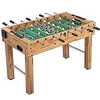 Deluxe Foosball Table Football Soccer Indoor Outdoor Gaming Games Play Arcade Sports Fun
