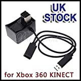 Generic O-1-O-4944-O 0 KINEC Convertor for r Xbox Cable Adapter onverto Power Supply AC le Adap Xbox 360 KINECT Sensor ansfer Transfer USB NV_1001004944-NHUK17_1734