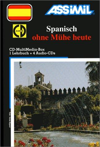 Spanisch ohne Mühe heute (1 livre + coffret de 4 CD) (en allemand)