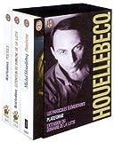 Michel Houellebecq, coffret de 3 volumes - Plateforme - Extension du domaine de la lutte - Les particules élémentaires