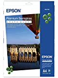 Epson A4 Semi-Gloss Photo Paper (Pack of 20)