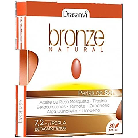 DRASANVI BRONZE NATURAL 30perlas