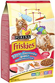 Purina Friskies 12373677 iskies Kitten Discovery Cat Food 1.1kg(Pack of 1)