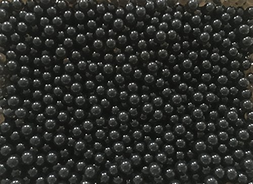 10 Liter Wasser Bällchen Kugeln Dekoration Perlen über 4.000 Stück (100Gramm) - Pflanzen Blumen Dekoration Tischdeko Deko & Raumluft Befeuchter (Schwarz)