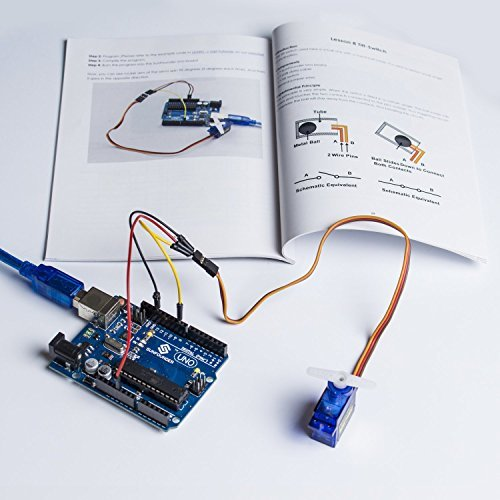 51WPPgT5DeL - SunFounder Starter Learning Kit para Arduino Principiante