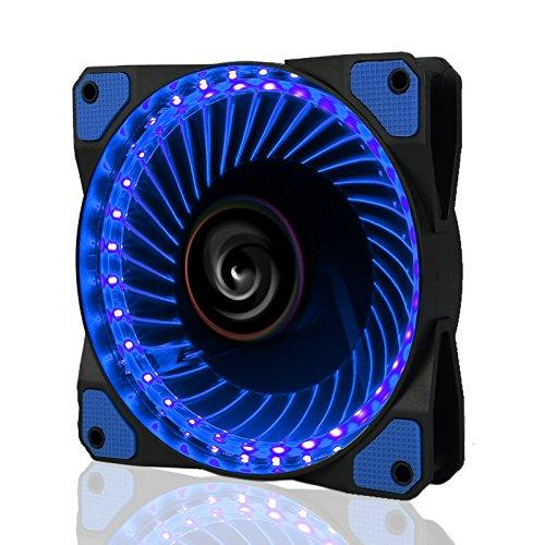 Radio Zoll 6 Auto Bluetooth (LeaningTech LTC LitFlow 120mm 32 LED Leise langlebig großer Luftstrom Cooling PC Gehäuse Lüfer CPU Kühler und Radiator blau)