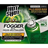 Hot Shot Indoor Fogger with Odor Neutralizer, 3/2-Ounce