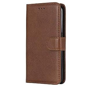 Bear Village® Hülle für Samsung Galaxy S6 Edge, Flip Leder Handyhülle Tasche mit Kartensfach, TPU Innere Ledertasche…