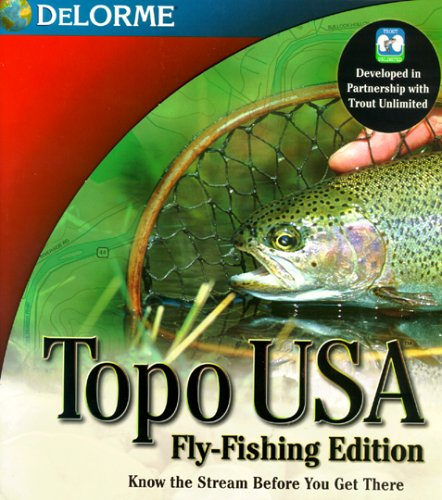 Topo Usa: Fly Fishing Edition Topo-mapping-software