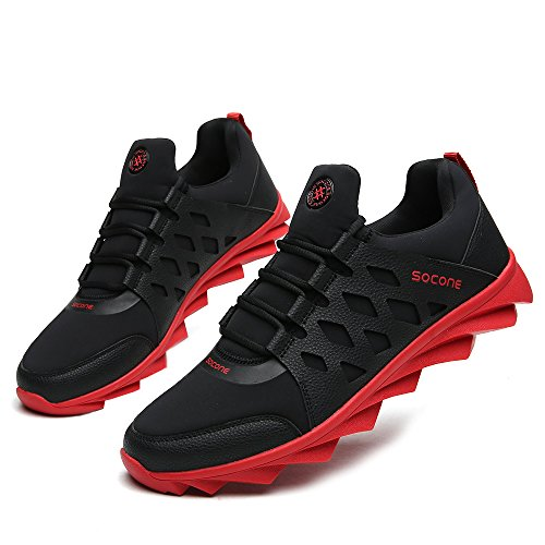 Aleader  Performance, Chaussures de running pour homme red