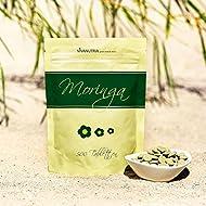 Geovitalis - Moringa grado alimentario - 500 comprimidos de 500 mg - 100% puros y sin aditivos